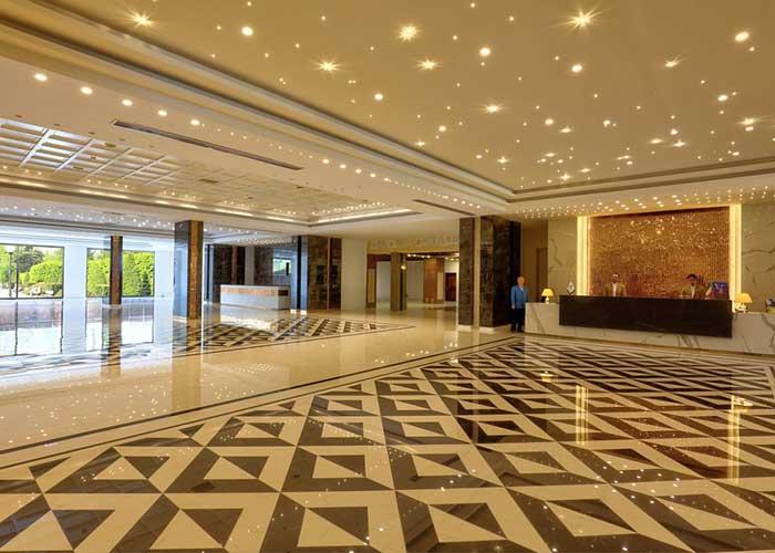 ورودی هتل المپیک تهران