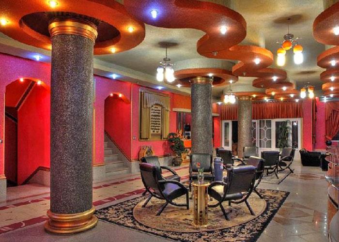 لابی هتل آپارتمان اورانوس سرعین