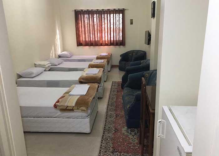 اتاق سه تخته هتل پژوهش تهران