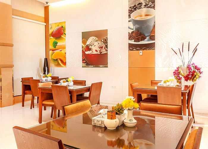 رستوران هتل پامچال