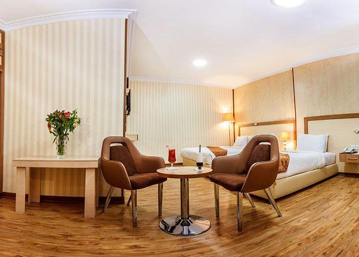عکس اتاق هتل پامچال تهران