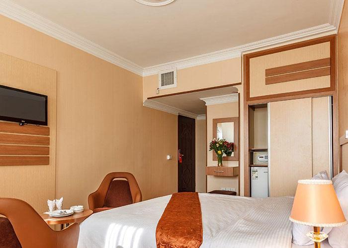 اتاق های هتل پامچال تهران