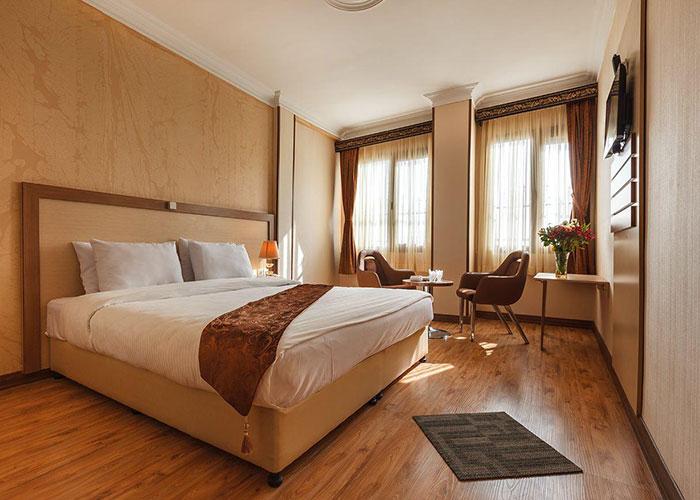 تصاویر اتاق های هتل پامچال تهران