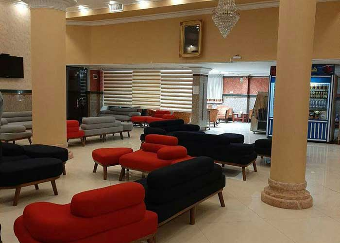 عکس لابی هتل پانیذ مشهد