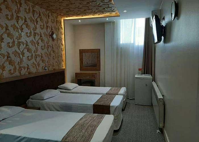 اتاق های هتل پانیذ مشهد