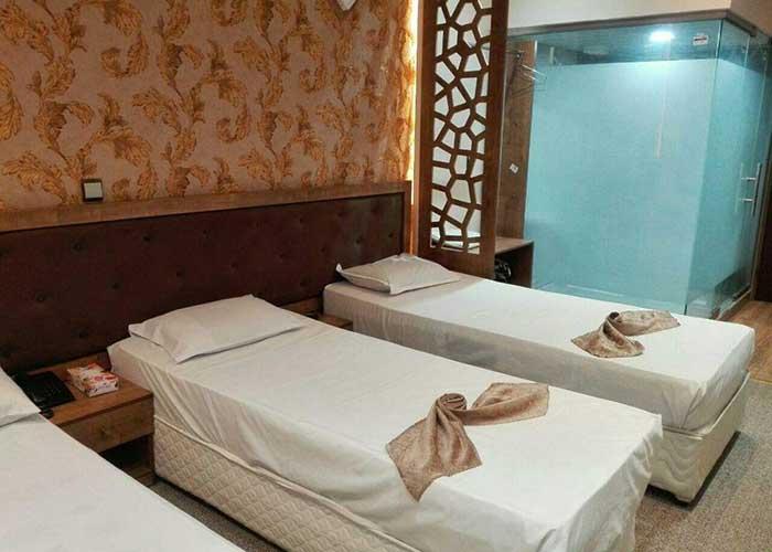 عکس اتاق های هتل پانیذ مشهد