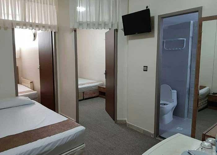 تصاویر اتاق های هتل پانیذ مشهد