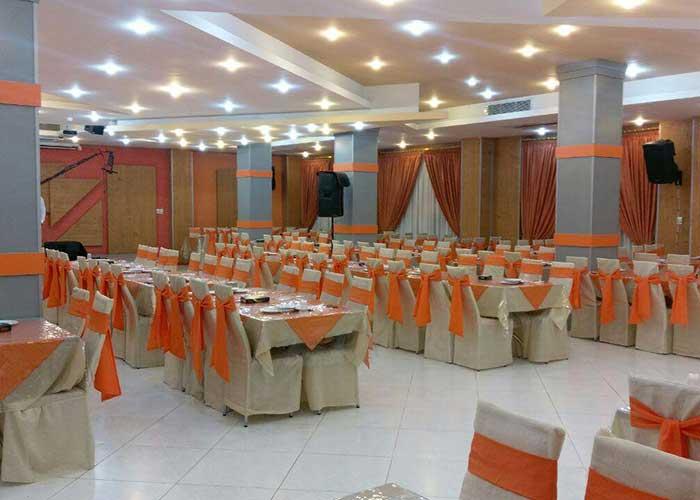 سالن عروسی هتل ساحلی  پردیس