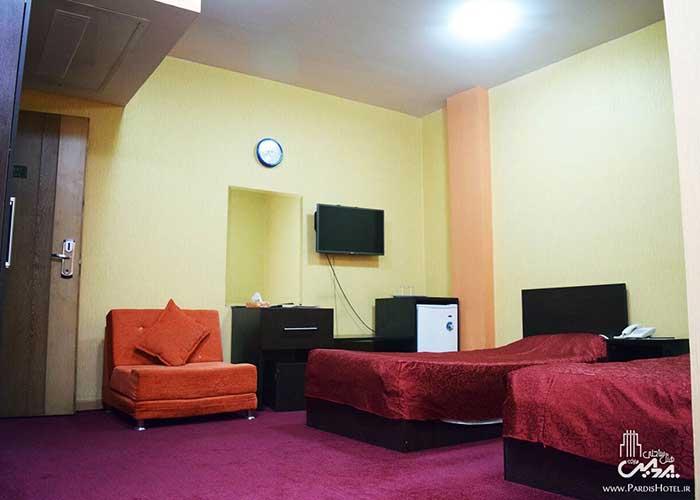 تصاویر اتاق هتل پردیس مبارکه اصفهان