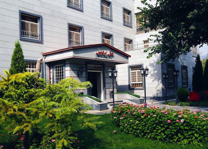 ساختمان هتل پردیس کرج
