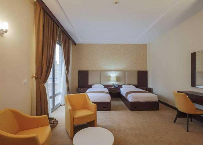 تصاویر اتاق های هتل پردیس فناوری تهران