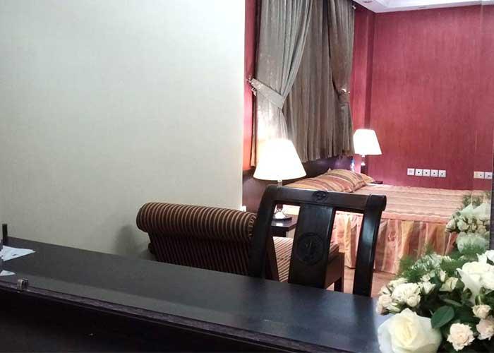 اتاق هتل پاریز