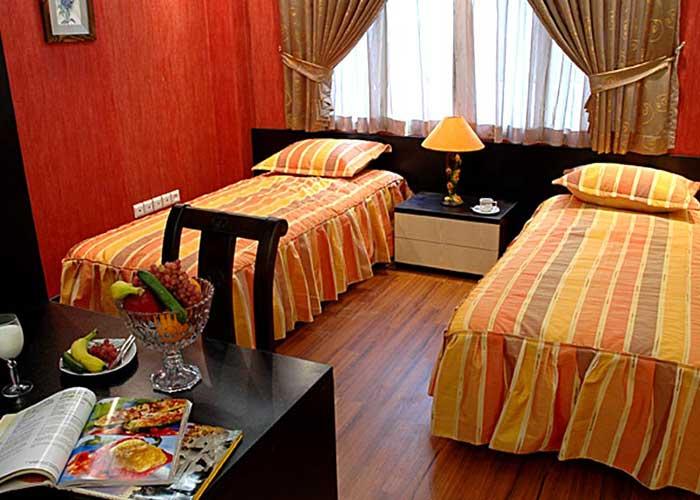 عکس اتاق هتل پاریز