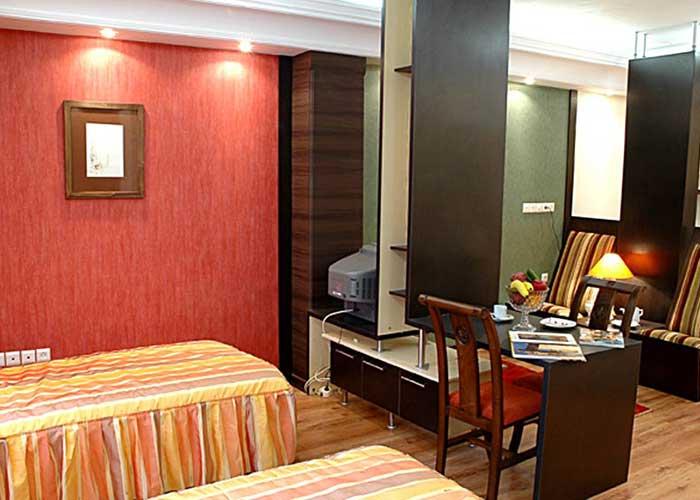 تصاویر اتاق هتل پاریز