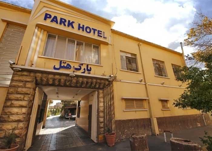 ورودی هتل پارک شیراز