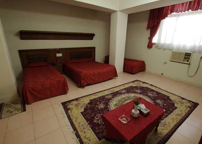عکس چهار تخته هتل پارک شیراز