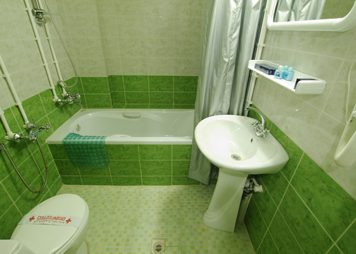 سرویس بهداشتی اتاق هتل پارک شیراز