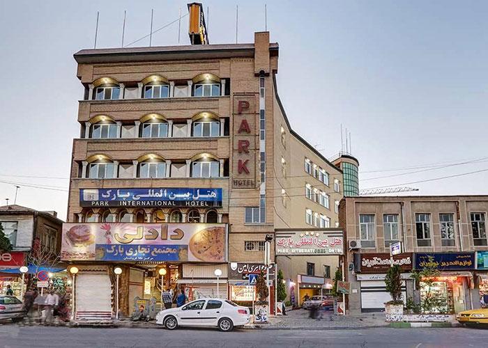 ساختمان هتل پارک ارومیه