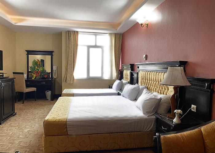 اتاق سه تخته هتل پارک ارومیه