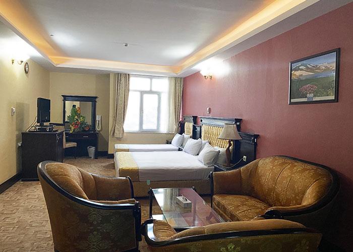 عکس اتاق سه تخته هتل پارک ارومیه