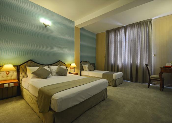 تصویر اتاق سه تخته هتل پارک سعدی شیراز