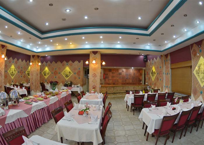 تصاویر رستوران هتل پارک سعدی شیراز