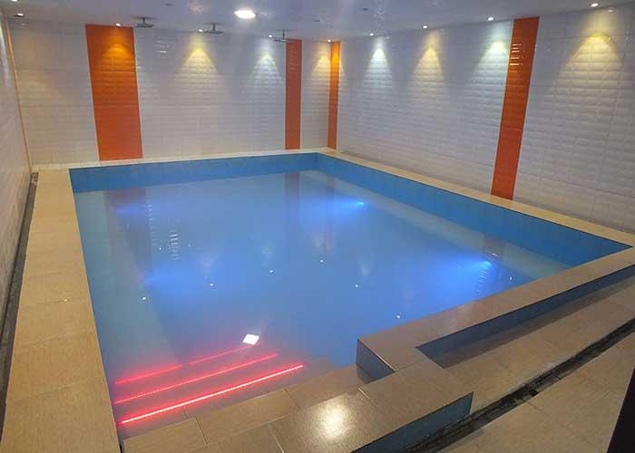 آب گرم هتل پرنیان خلخال