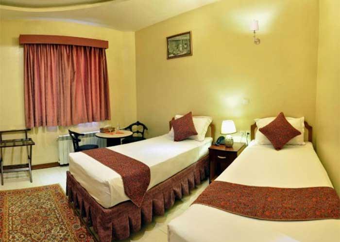 دو تخته هتل پارس اصفهان