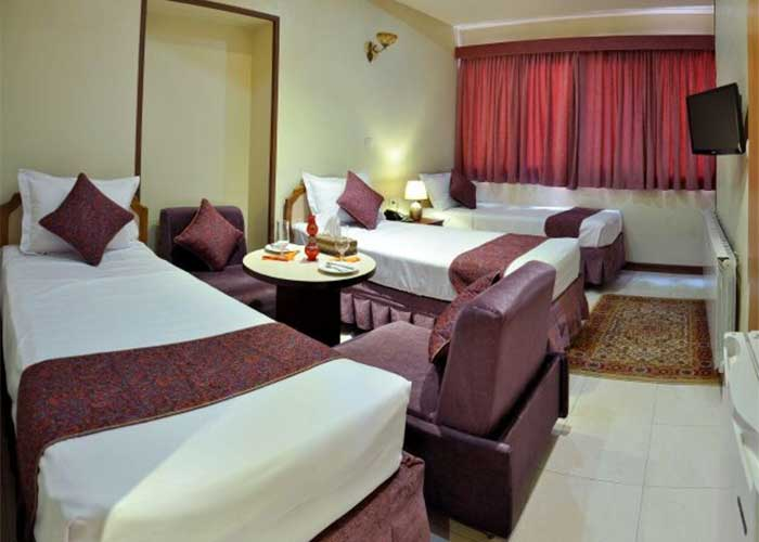 سه تخته هتل پارس اصفهان