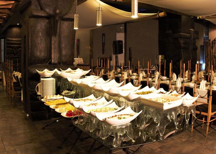 رستوران ملل هتل پارس شیراز