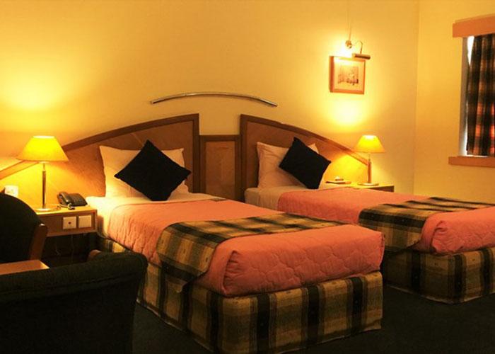 دو تخته توئین هتل پارس شیراز