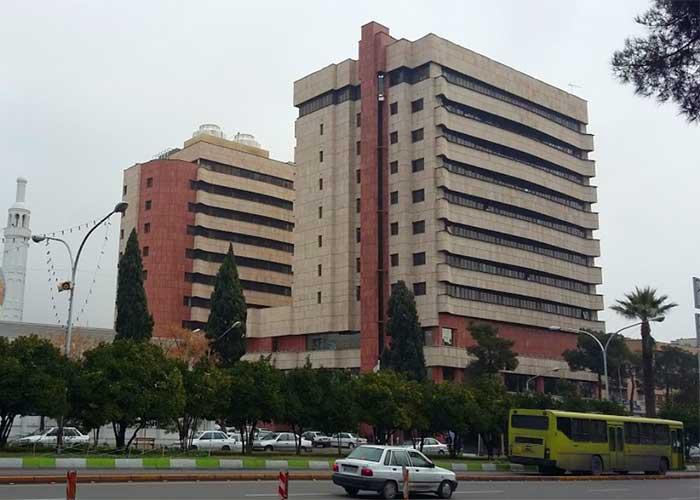 ساختمان هتل پارس شیراز