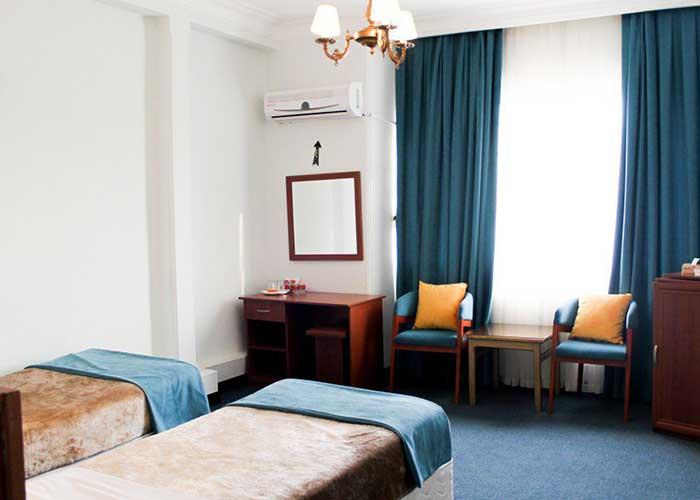 اتاق دو تخته  هتل پارسا تهران
