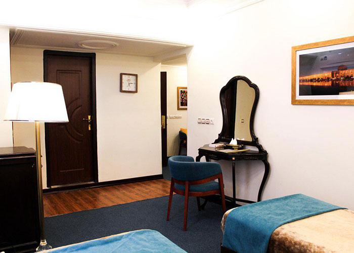 عکس اتاق هتل پارسا