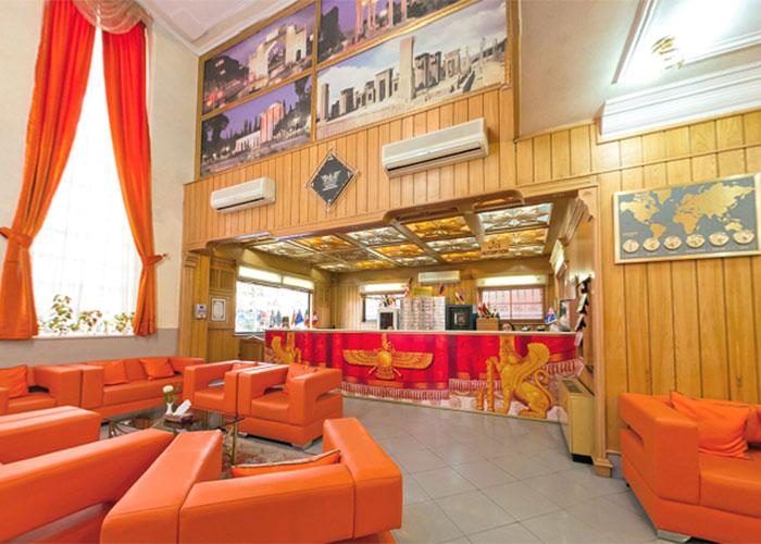 پذیرش هتل پارسه شیراز
