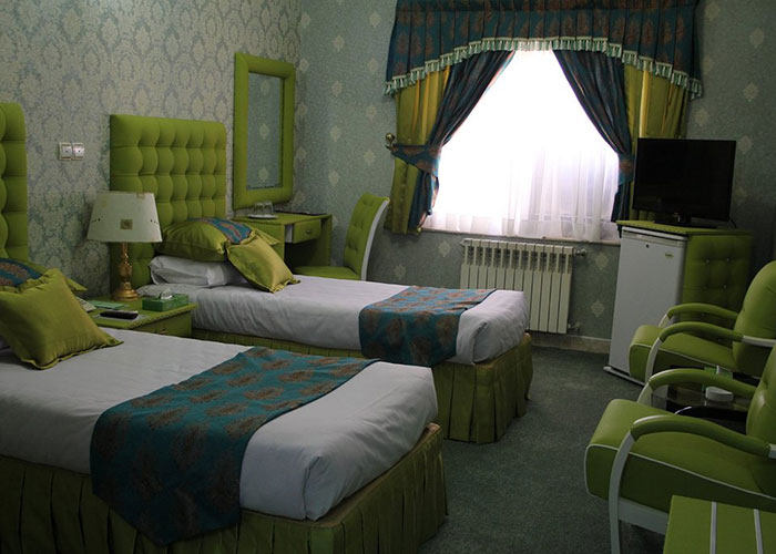 عکس دو تخته توئین هتل پارسه شیراز