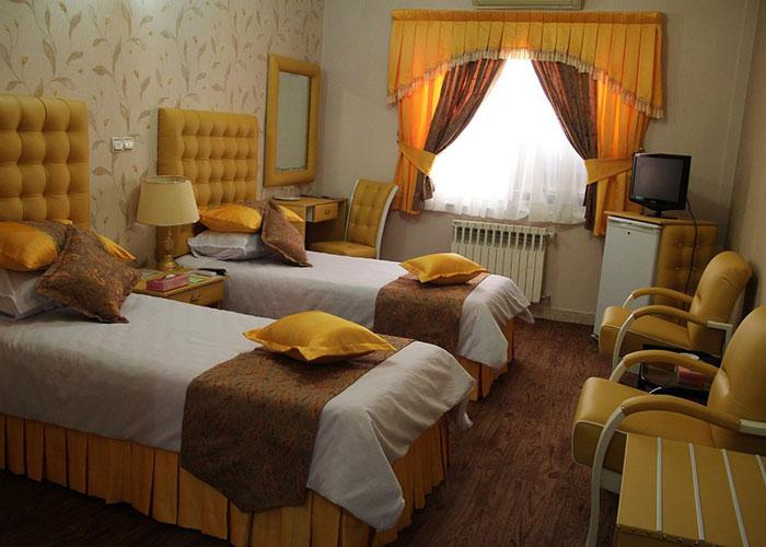 تصاویر دو تخته توئین هتل پارسه شیراز