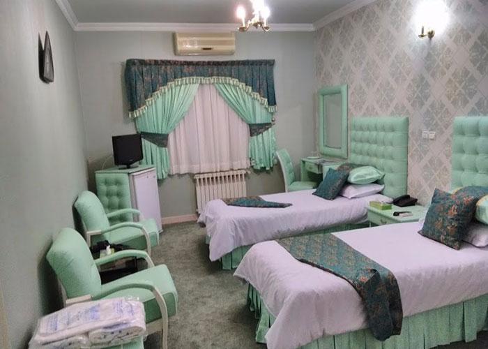 عکس اتاق های هتل پارسه شیراز