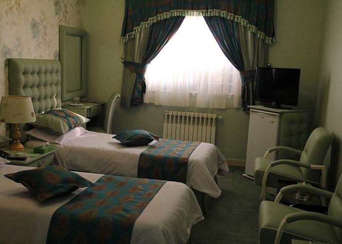 اتاق هتل پارسه شیراز