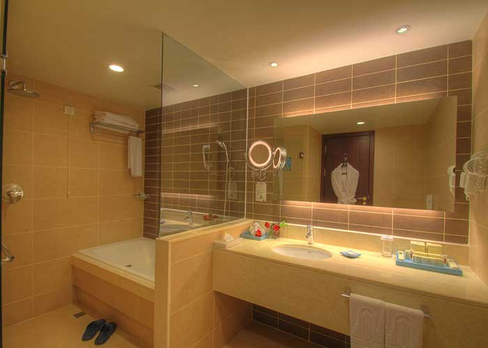 سرویس روشویی اتاق دو تخته هتل آزادی تهران