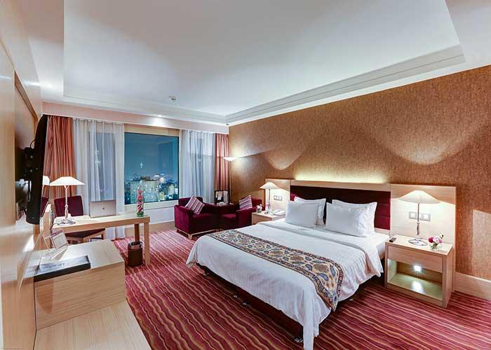 اتاق دو تخته دبل هتل آزادی تهران