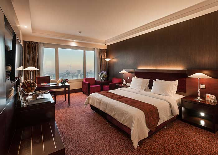 فضای اتاق دو تخته هتل آزادی تهران