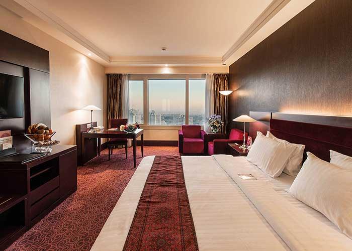 اتاق دوتخته دبل هتل آزادی تهران