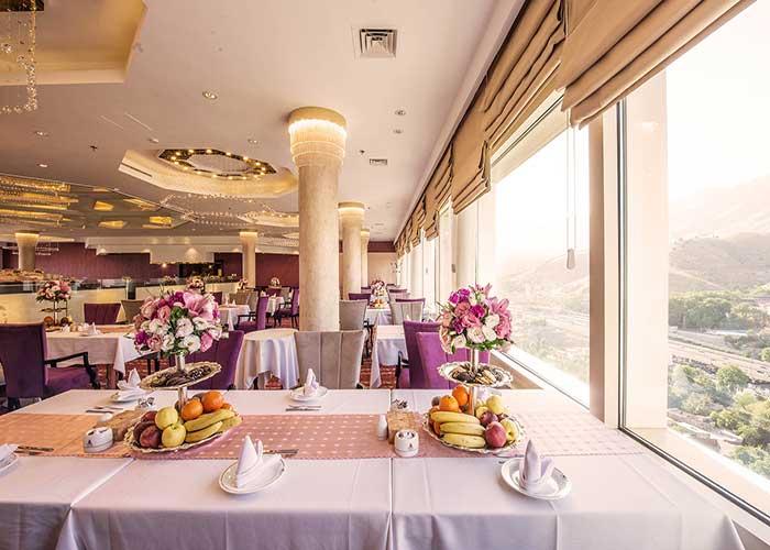رستوران پارسه هتل آزادی تهران