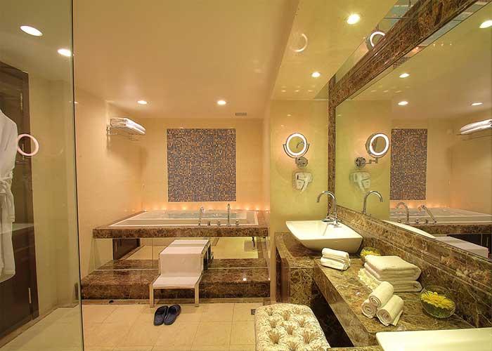 سرویس بهداشتی سوئیت پرزیدنتال هتل آزادی تهران