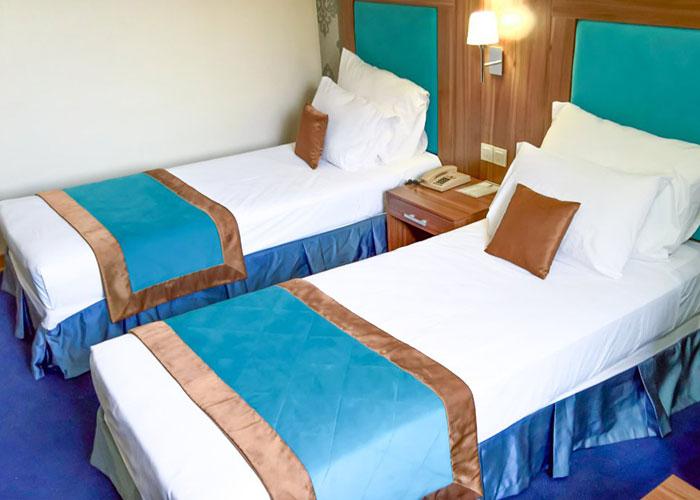 اتاق دو تخته توئین هتل پارسیان شیراز