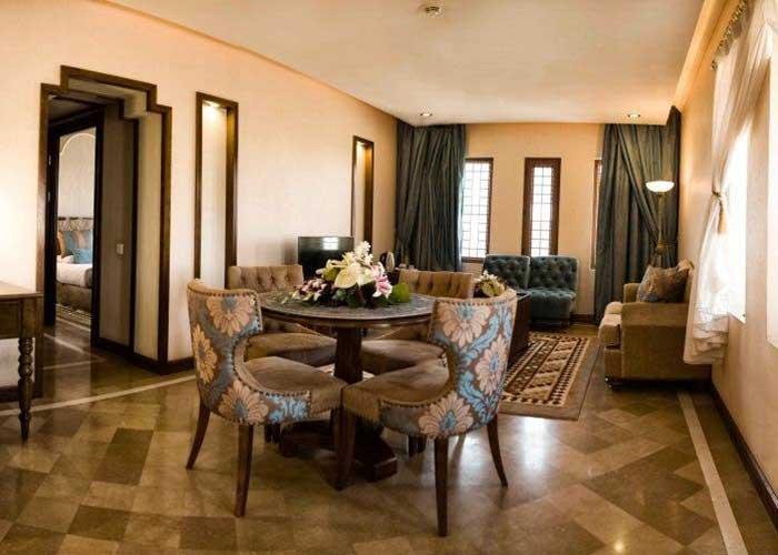 سالن سوئیت جدید هتل صفائیه یزد