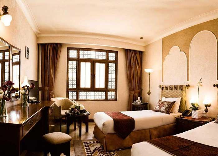 دو تخته توئین هتل صفائیه یزد