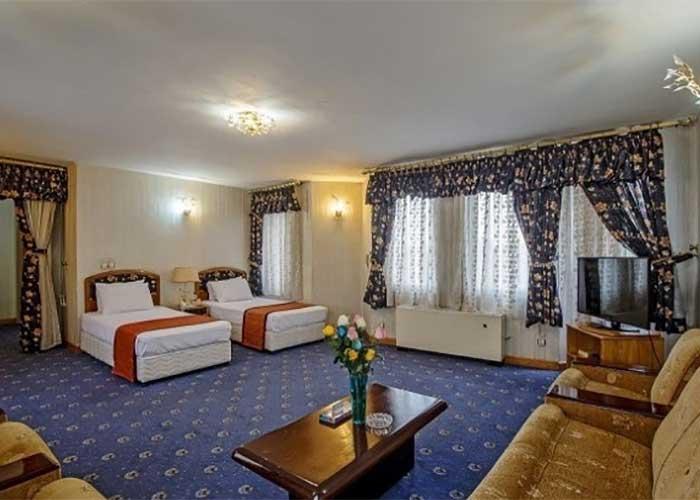 دو تخته توئین هتل پارسیان سوئیت