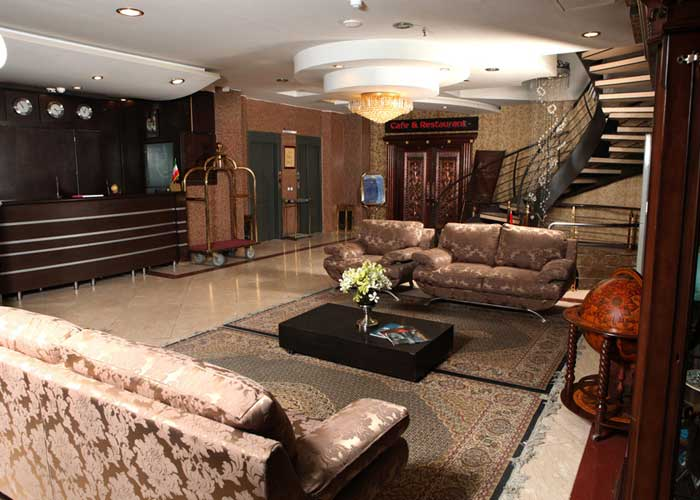 لابی هتل پارت اصفهان